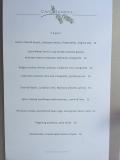 Cafe Juanita vegan menu