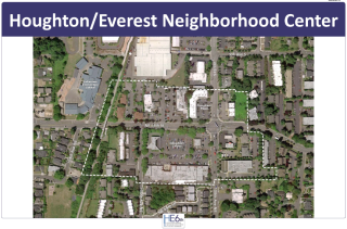 Houghton Everest Neighborhood Center Map 2016
