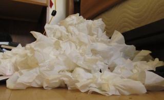 Tissue-cloud-pile